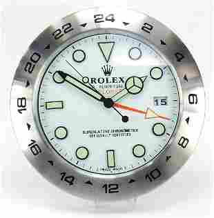Rolex Explorer II design dealer's displa...