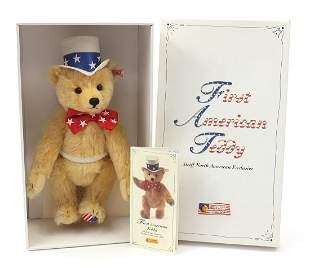 Steiff First American Teddy Bear with jo...