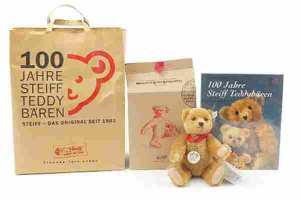 Steiff 100 Years Teddy Bear with jointed...