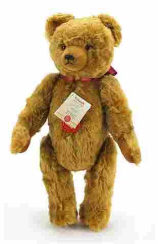 Hermann wind up musical teddy bear with ...