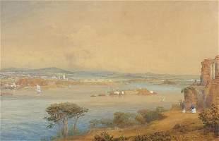 Charles Pyne - Continental coastal scene...