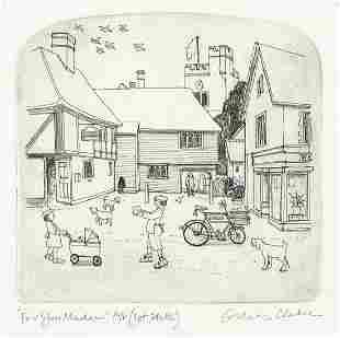 Graham Clarke - For you Madame, artist's...