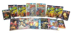 Vintage and later Star Trek and Marvel t...