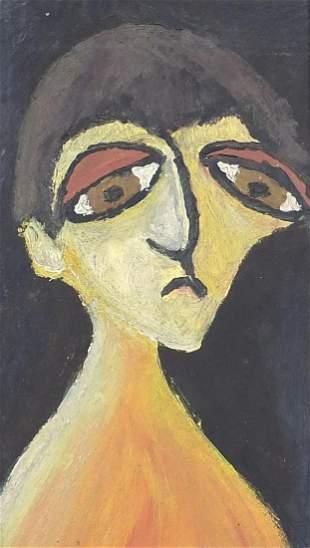 Surreal portrait of a figure, Modern Bri...