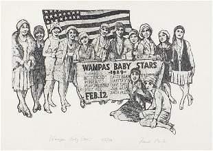 Frank Martin - Wampas baby stars, pencil...