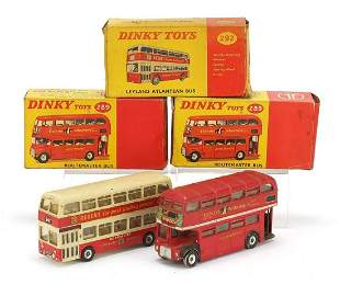 Dinky toys comprising Routemaster bus no...