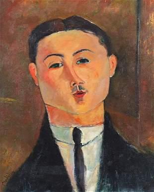 Head and shoulders portrait of a gentlem...