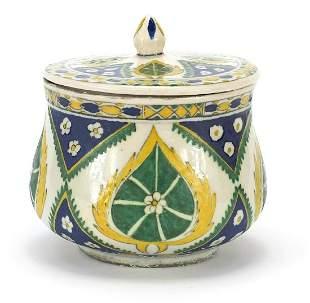 Turkish Kutahya pottery baluster sweet b...