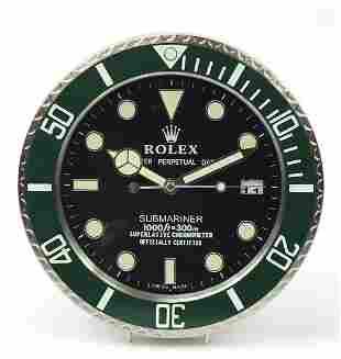 Rolex Submariner design dealers display ...