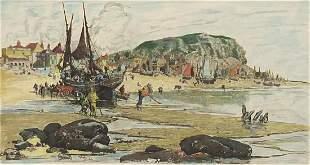 Stephen Parish - Hastings beach, 1885, A...