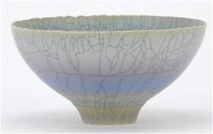 David White studio pottery bowl, 16cm in...