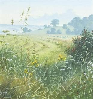 Peter Jay - The Marsh near Winchelsea, o...