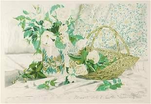 Rosalind Forster - Still life flowers, p...