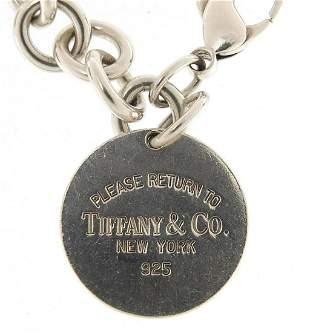 Tiffany & Co, silver bracelet, 18cm in l...