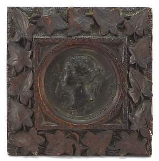 Victoria Young Head bronze Madres Exhibi...