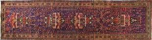 Rectangular Persian carpet runner decora...