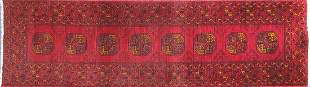 Rectangular Persian carpet runner having...