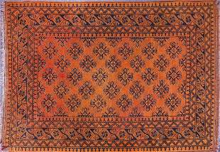 Middle Eastern brown ground rug with all...