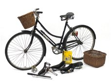 Vintage Elswick Road bicycle with four v...