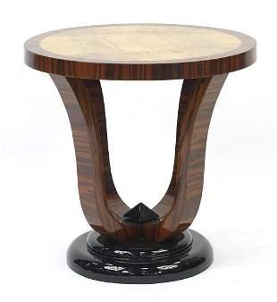 Art Deco design rosewood and walnut effe...