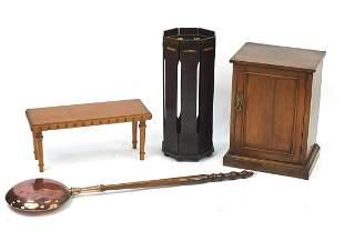 Occasional furniture comprising mahogany...