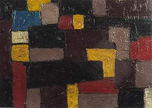 Abstract composition, geometric shapes, ...