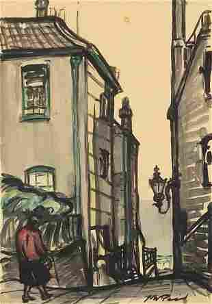 Nina Winder Reid - An alley in Hampstead...