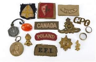Militaria including Royal Army Service C...