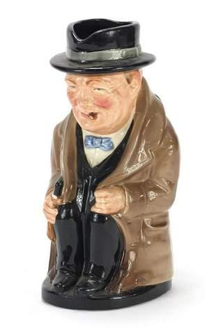 Royal Doulton Winston Churchill characte...