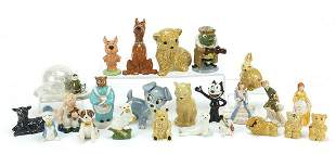 Collection of Wade figures and animals i...