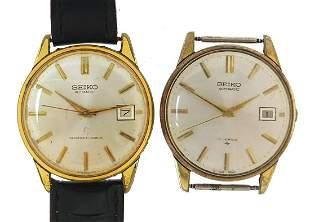 Seiko, two vintage gentlemen's automatic...