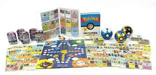Vintage and later Pokemon collectables i...