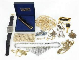 Antique and later costume jewellery and ...