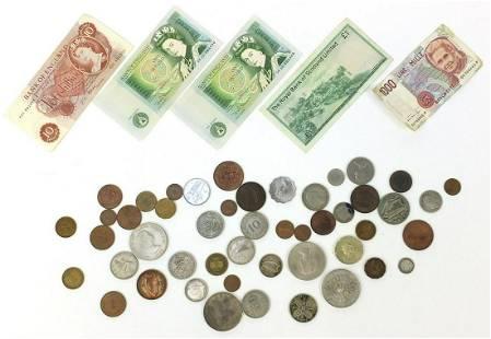 British and world coinage and banknotes ...