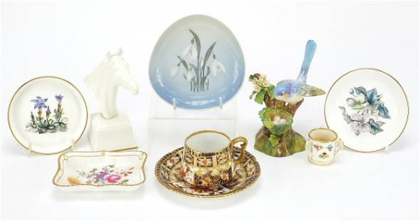 Collectable china including Royal Crown ...
