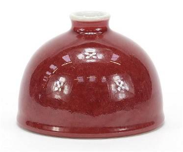 Chinese porcelain bee hive water pot hav...