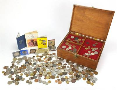 Antique and later British and world coin...