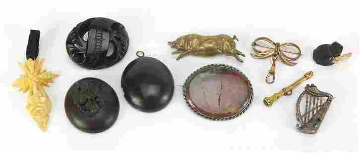 Antique and later jewellery including vu...