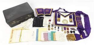 Royal Order of Buffalos regalia includin...