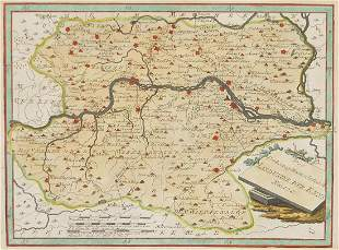 Hand coloured map of the Archduchy of Au...