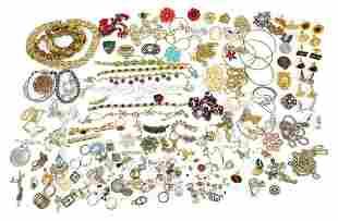 Costume jewellery including rolled gold ...