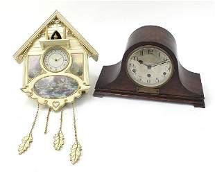 Bradford Editions cuckoo clock and an oa...