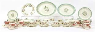 Dinner and teaware comprising Coalport M...