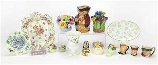 Collectable china including Victorian Si...