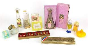 Vintage and later perfumes and bottles i...