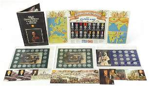 Five advertising coin collections includ...