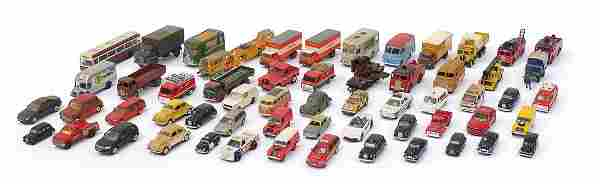 Predominantly die cast vehicles includin...