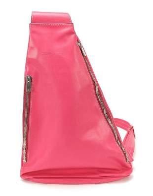 Ladies Texier pink leather shoulder bag ...