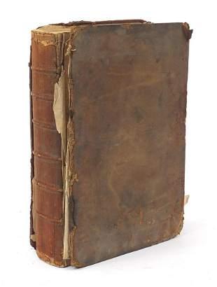 Antique leather bound Book of Common Pra...