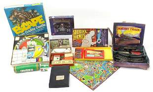 Vintage and later toys and games includi...